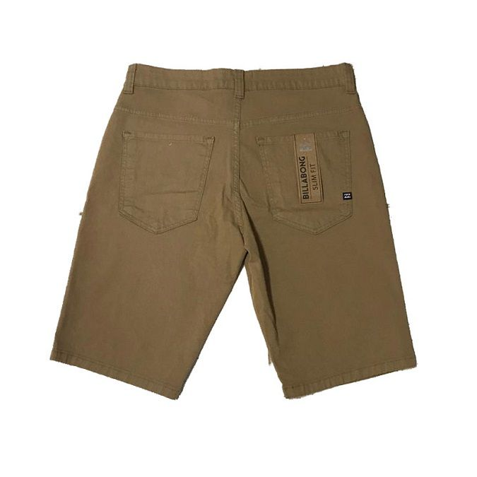 Bermuda Billabong Walk Khaki Pocket
