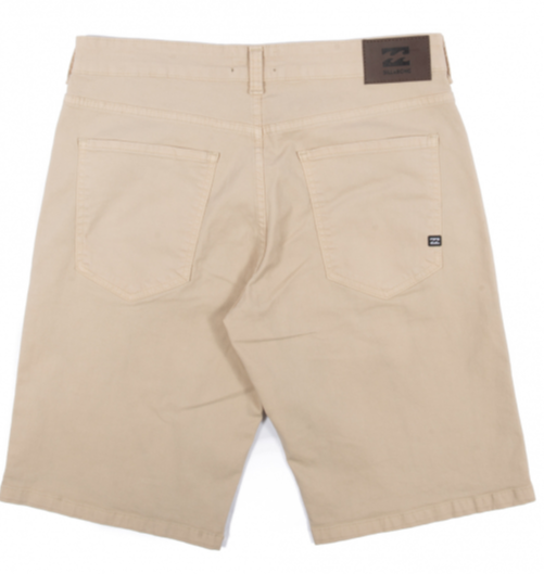 Bermuda Billabong Walk Light Khaki