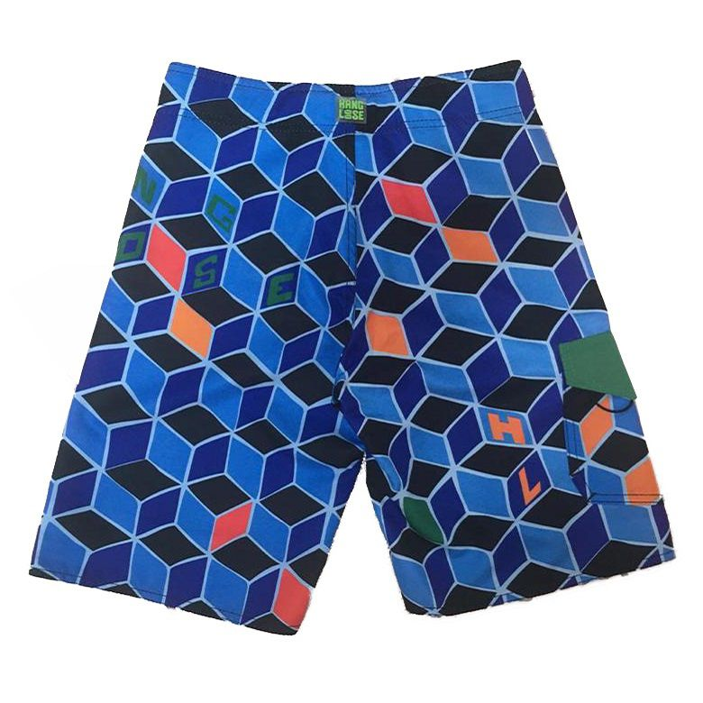 Bermuda Boardshort Hang Loose Colorfluor JUVENIL