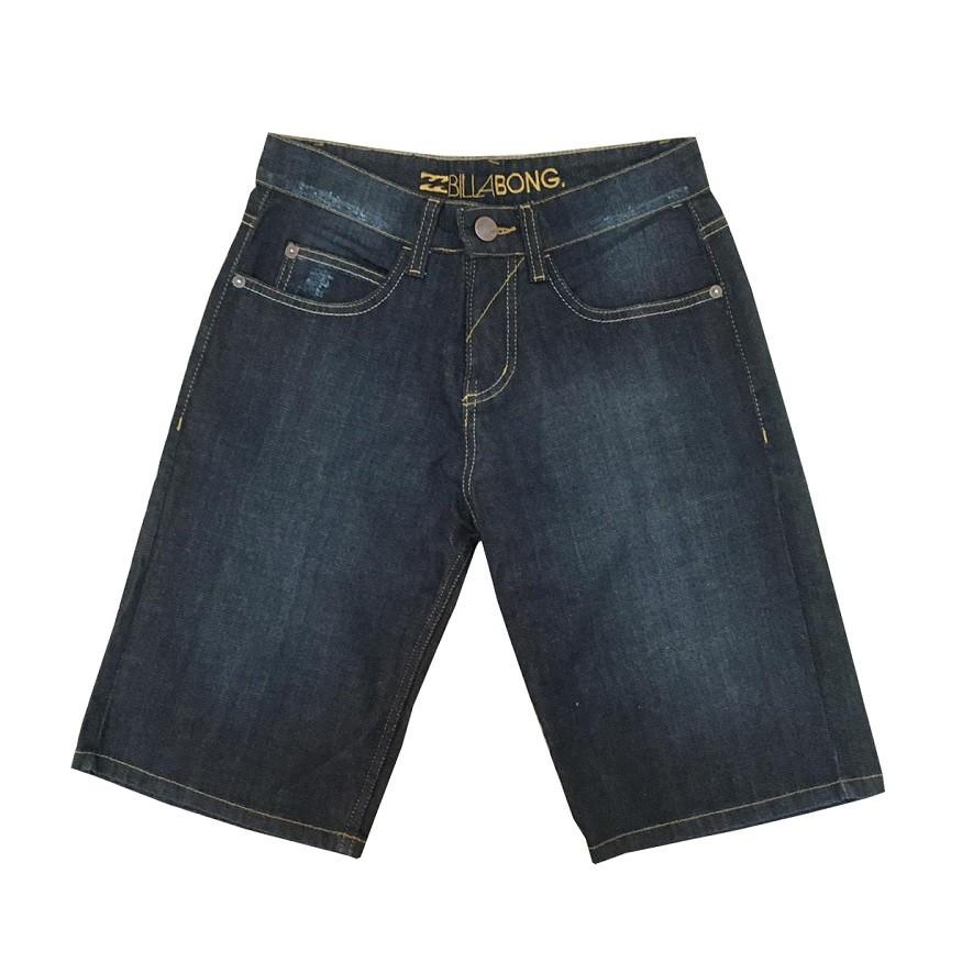 Bermuda Jeans Billabong Riped Juvenil