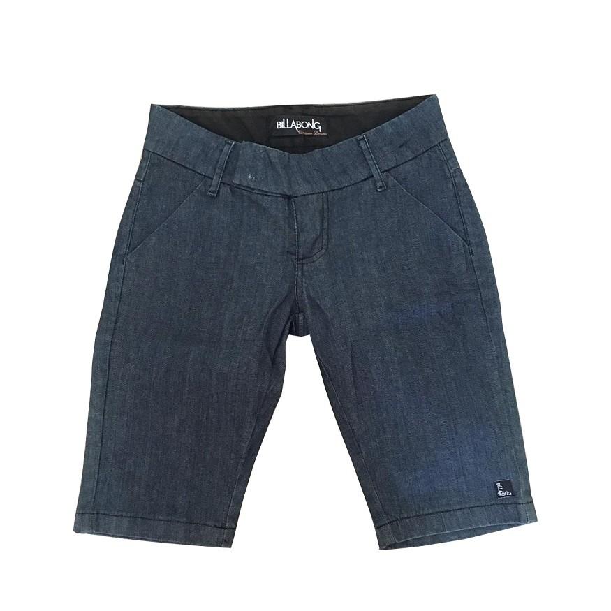 Bermuda Jeans Billabong Urique Demin Feminina