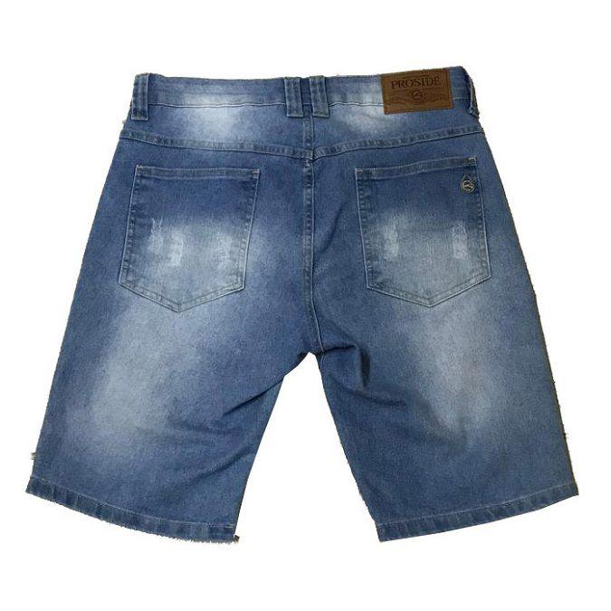 Bermuda Jeans Proside Azul Claro