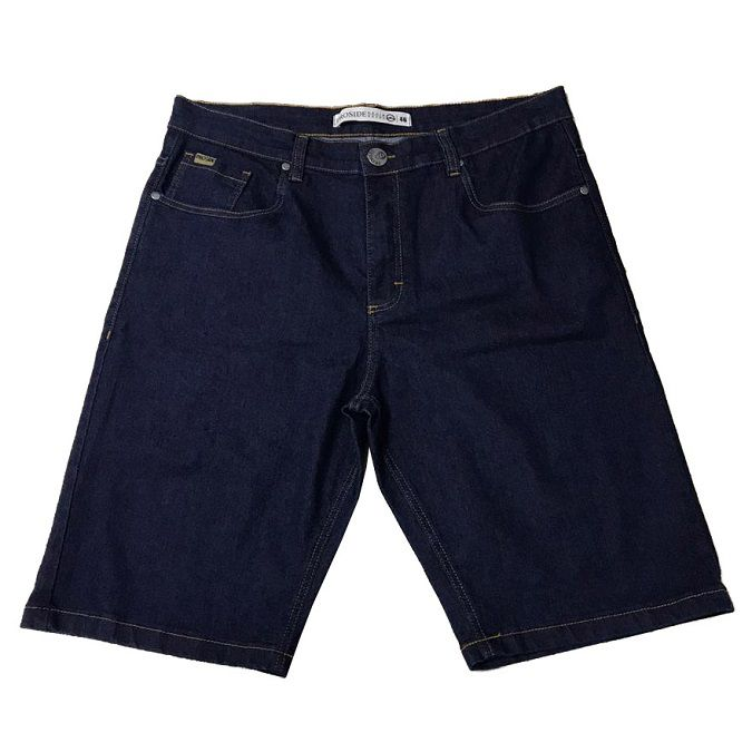 Bermuda Jeans Proside c/ Elastano Azul Escuro
