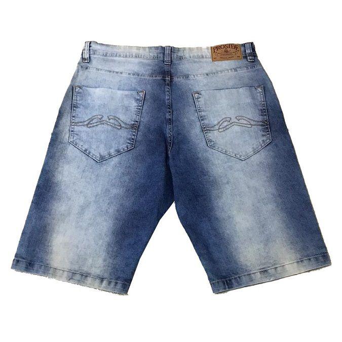 Bermuda Jeans Proside c/ Elastano Mescla