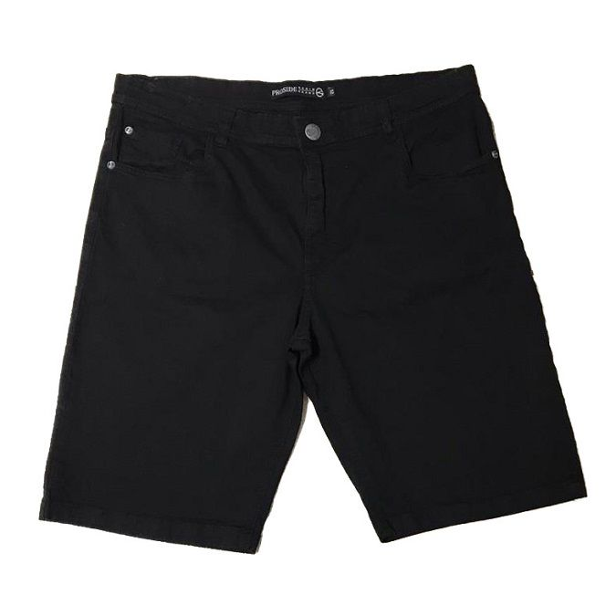 Bermuda Jeans Proside Color Extra Preta