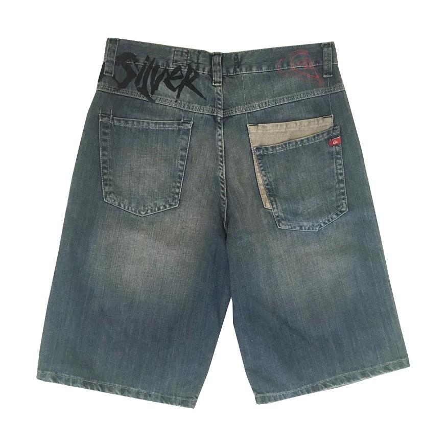 Bermuda Jeans Quiksilver Whateva Masculina