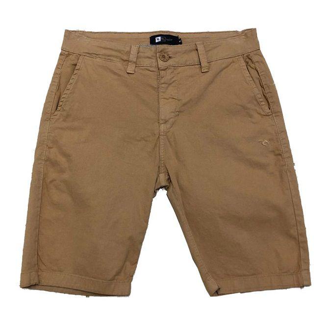 Bermuda Jeans Rip Curl Chino Khaki