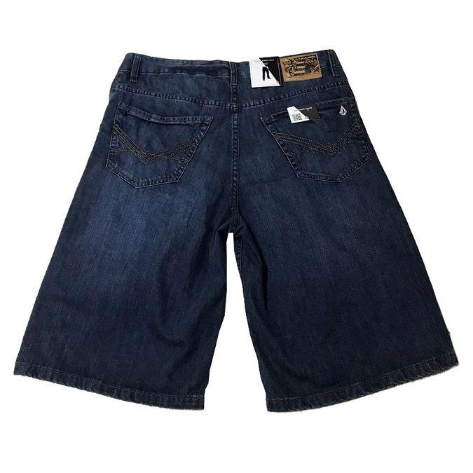 Bermuda Jeans Volcom Black Zip