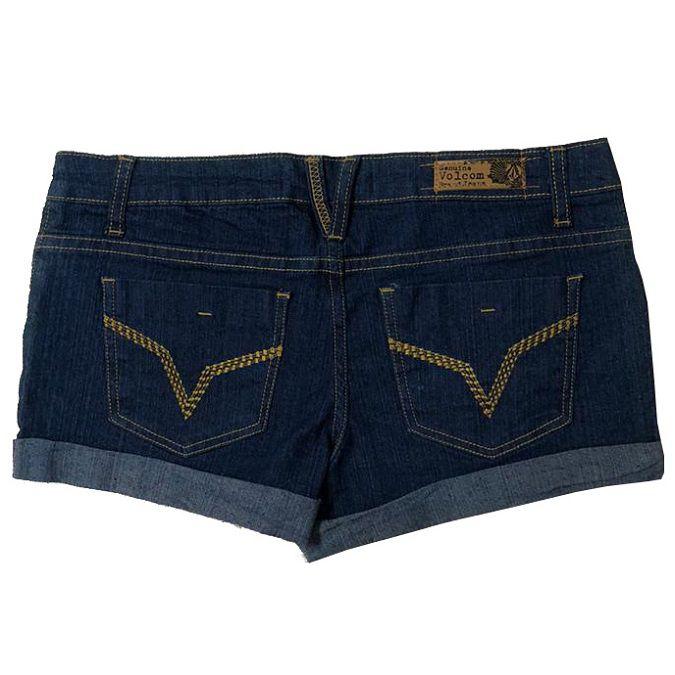 Bermuda Jeans Volcom Dallas Feminina