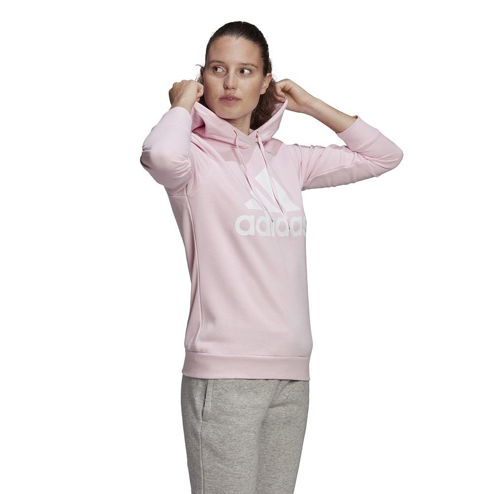 Blusão Moletom Adidas Essentials Relaxed Logo Feminino