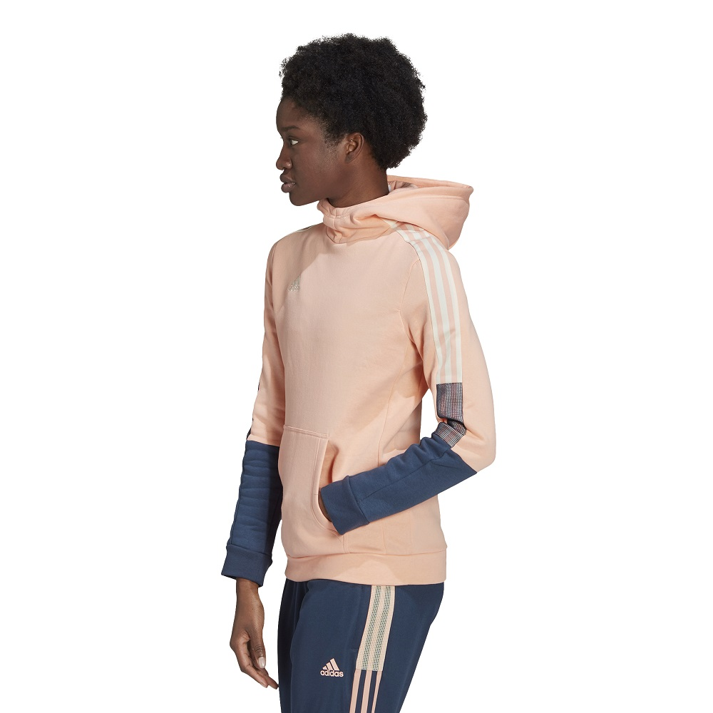 Blusão Moletom Adidas Tiro Sweat Feminino