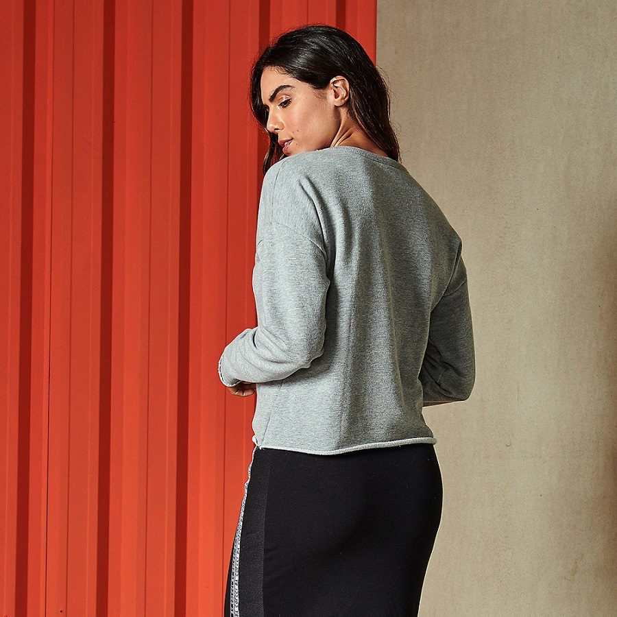 Blusão Moletom Colcci Sport Style Feminino