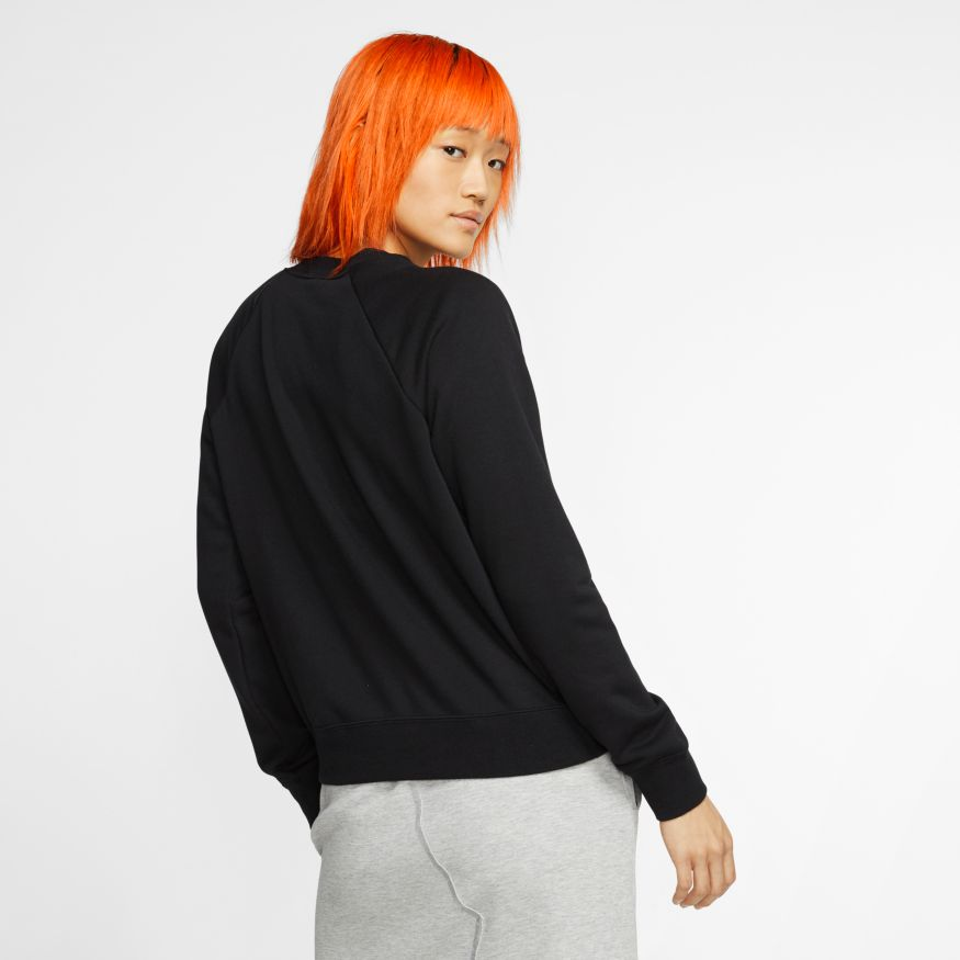 Blusão Moletom Nike Essentials Fleece Crew Feminino