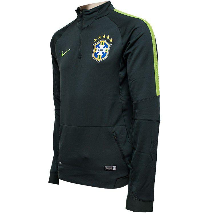 Blusão Nike CBF Squad LS Midlayer