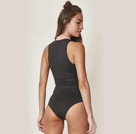 Body Colcci Fitness Decote Zíper