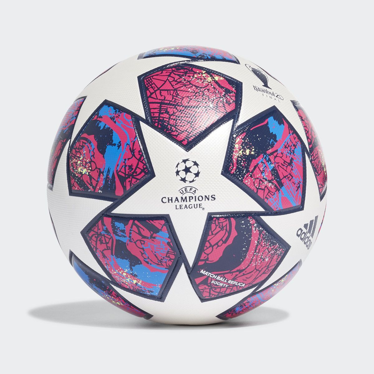 Bola Adidas UCL Finale Instanbul Society