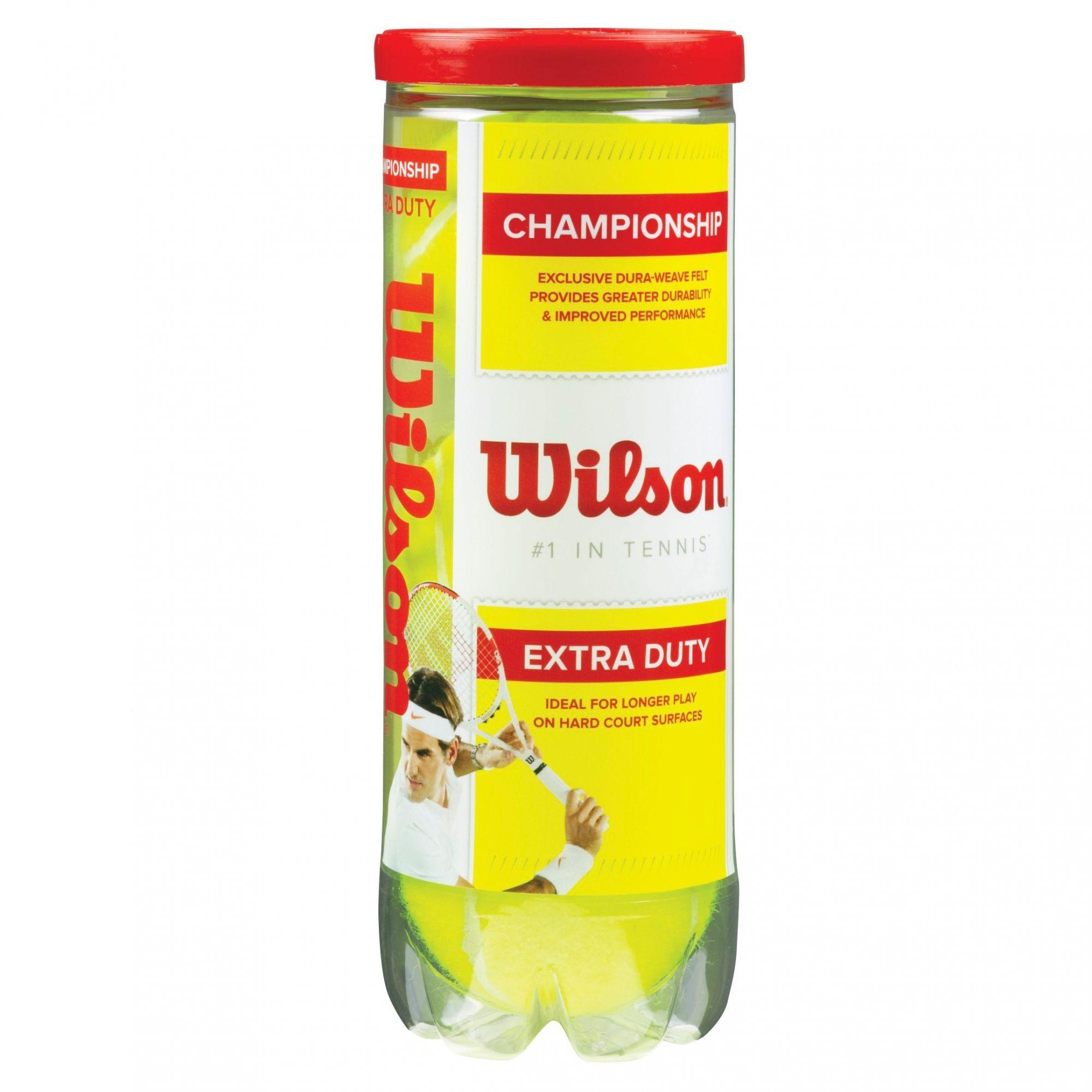 Bola de Tênis Wilson Championship WRT1001P