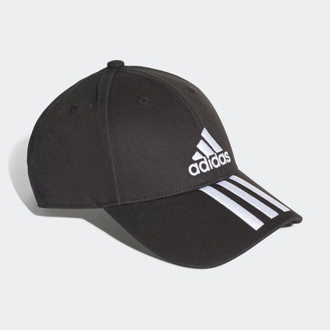 Boné Adidas Seis Painéis Classic 3 Stripes