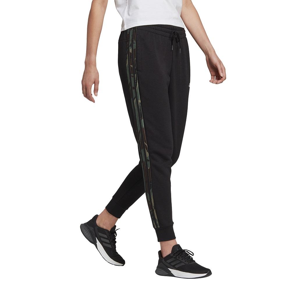 Calca Adidas Essentials Camouflage 3 Stripes Feminina