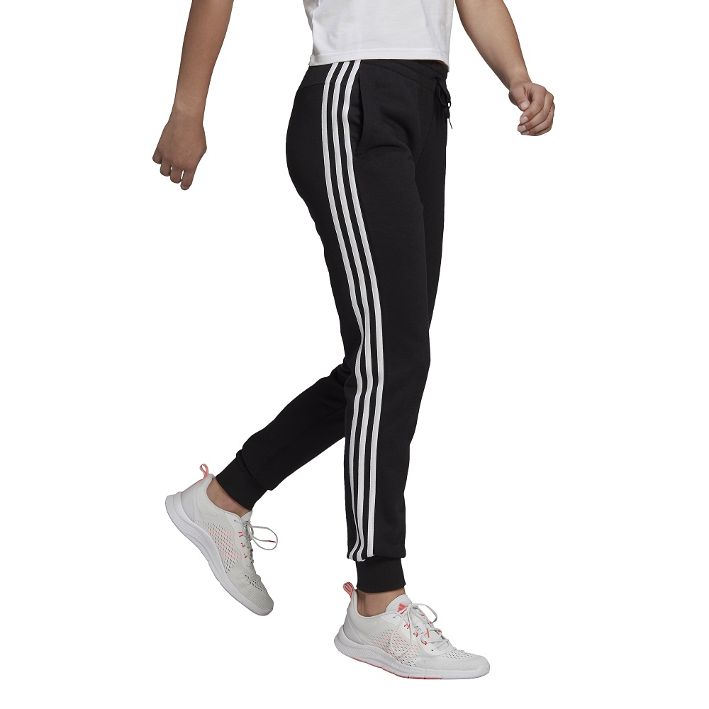 Calça Adidas Essentials French Terry 3 Stripes Feminina