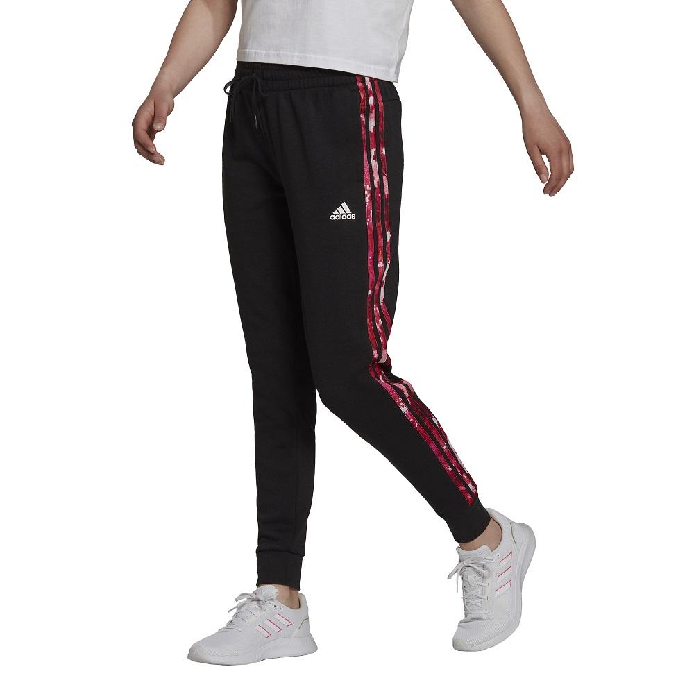 Calça Adidas Essentials Print 3 Stripes Feminina