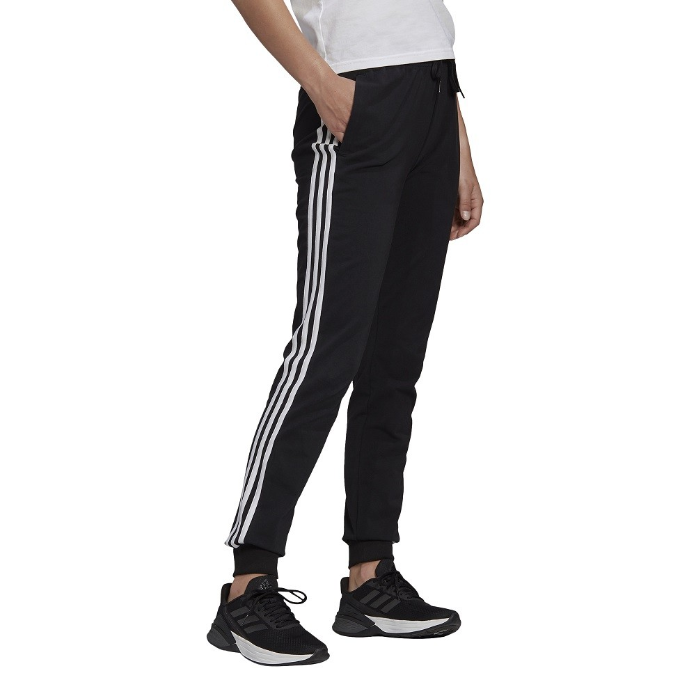 Calça Adidas Essentials Single Jersey 3-Stripes Feminina