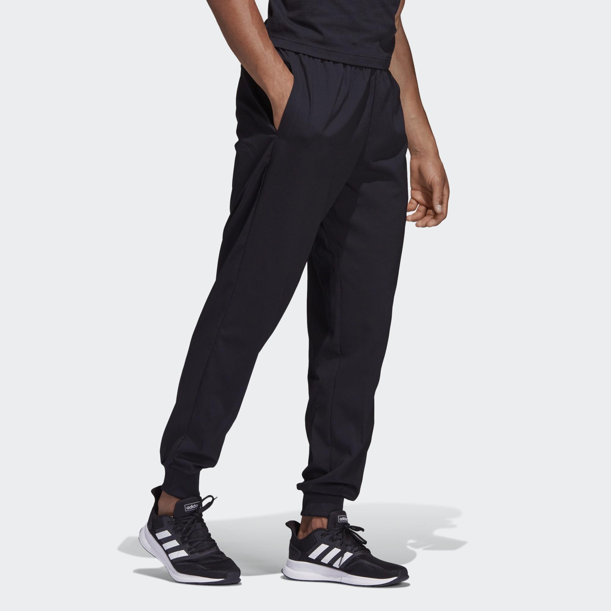 Calça Afunilada Adidas Essentials Plain Stanford