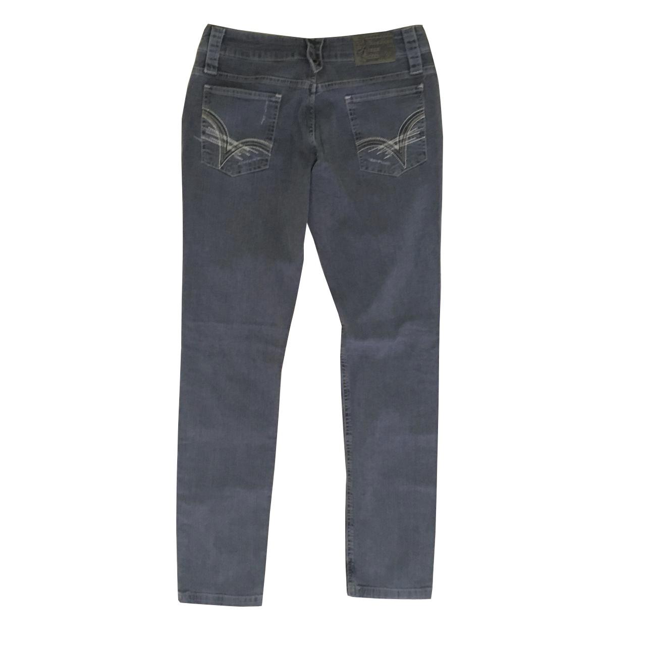 Calça Jeans Volcom Stoned Gray Feminina