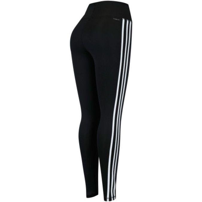 Calça Legging Adidas D2M HR 3S Feminina