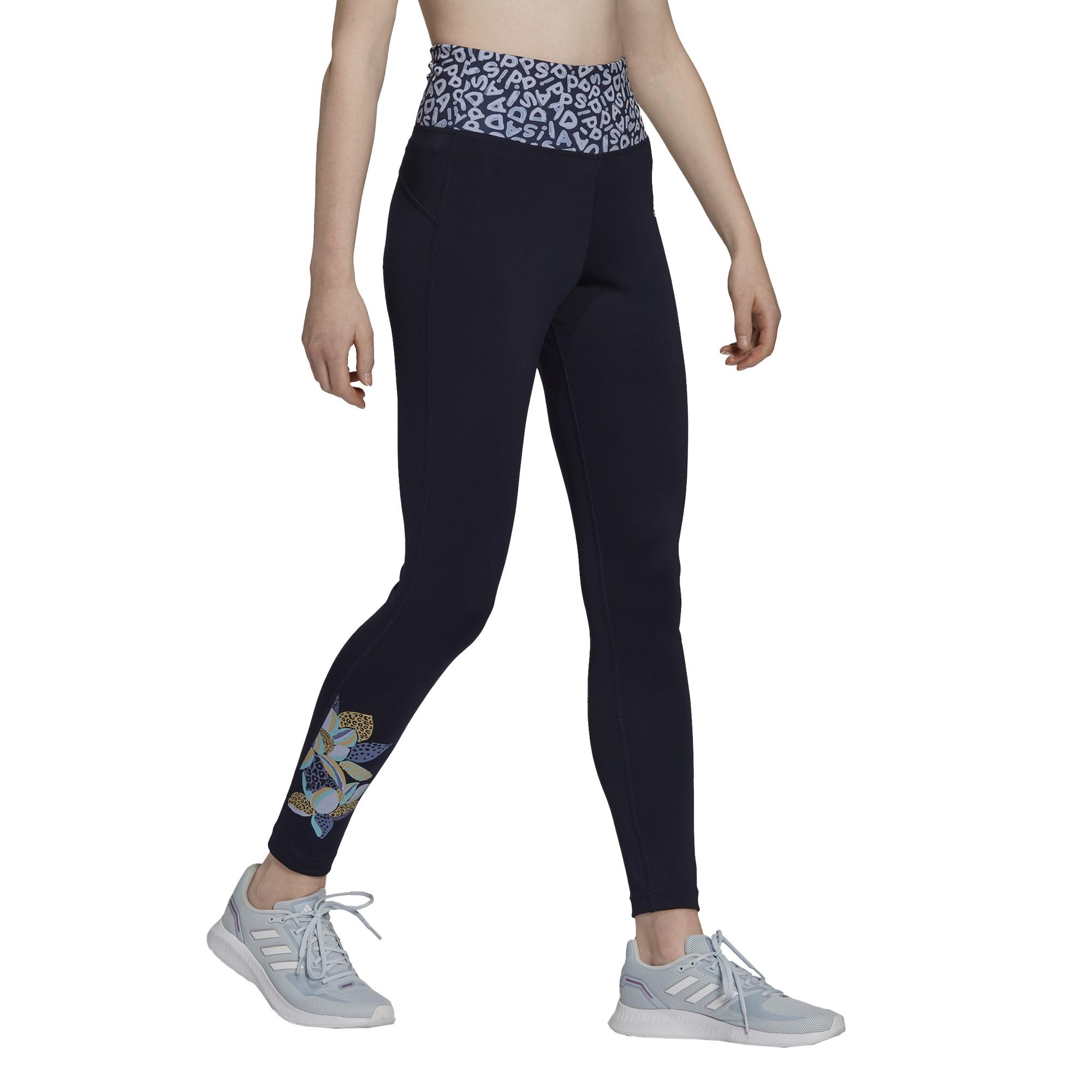 Calça Legging Adidas Farm Feminina