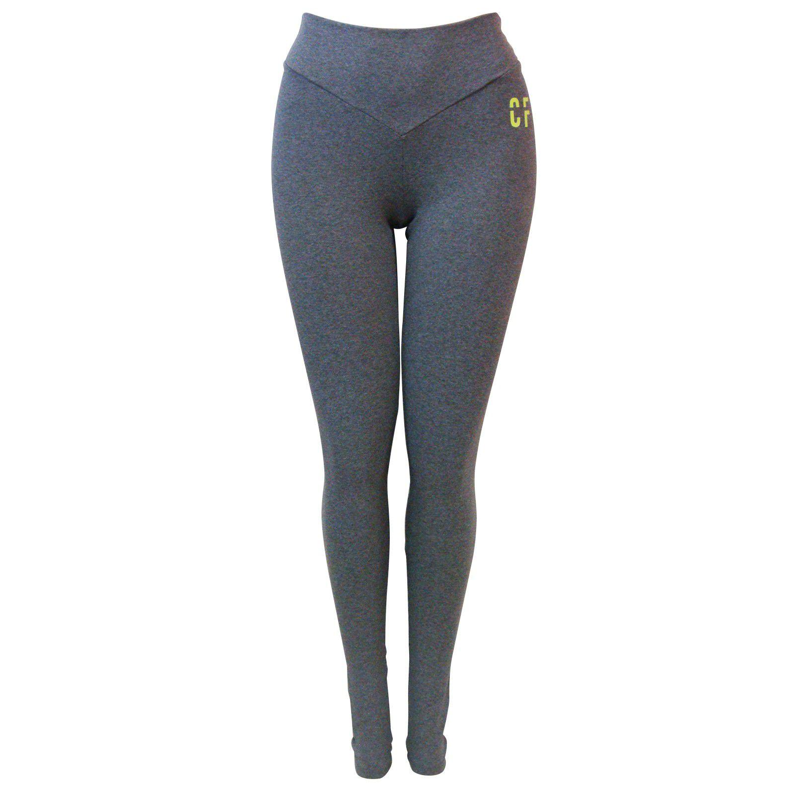 Calça Legging Colcci Fitness Com Aplicação Feminina
