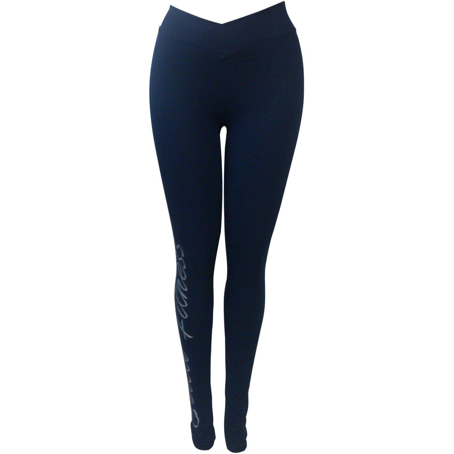 6199dbeda13f98 Calça Legging Colcci Fitness Estampada Feminina Ref 0025700303 ...