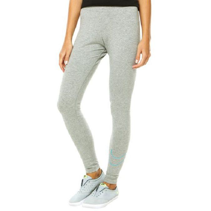 Calça Legging Nike Club Swoosh Feminina