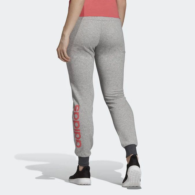 Calça Moletinho Adidas Essentials Linear Feminina