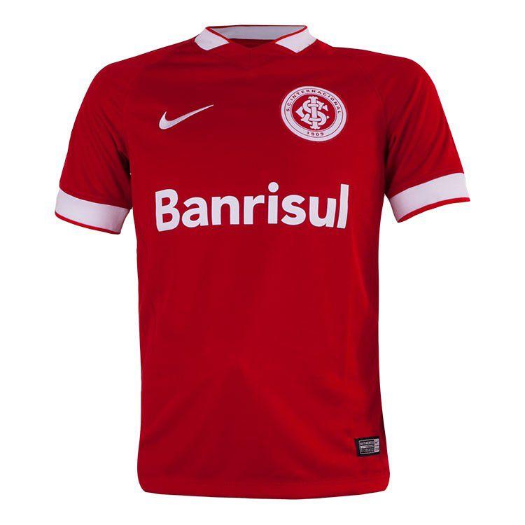 Camisa Nike Internacional I 14/15 s/nº Juvenil