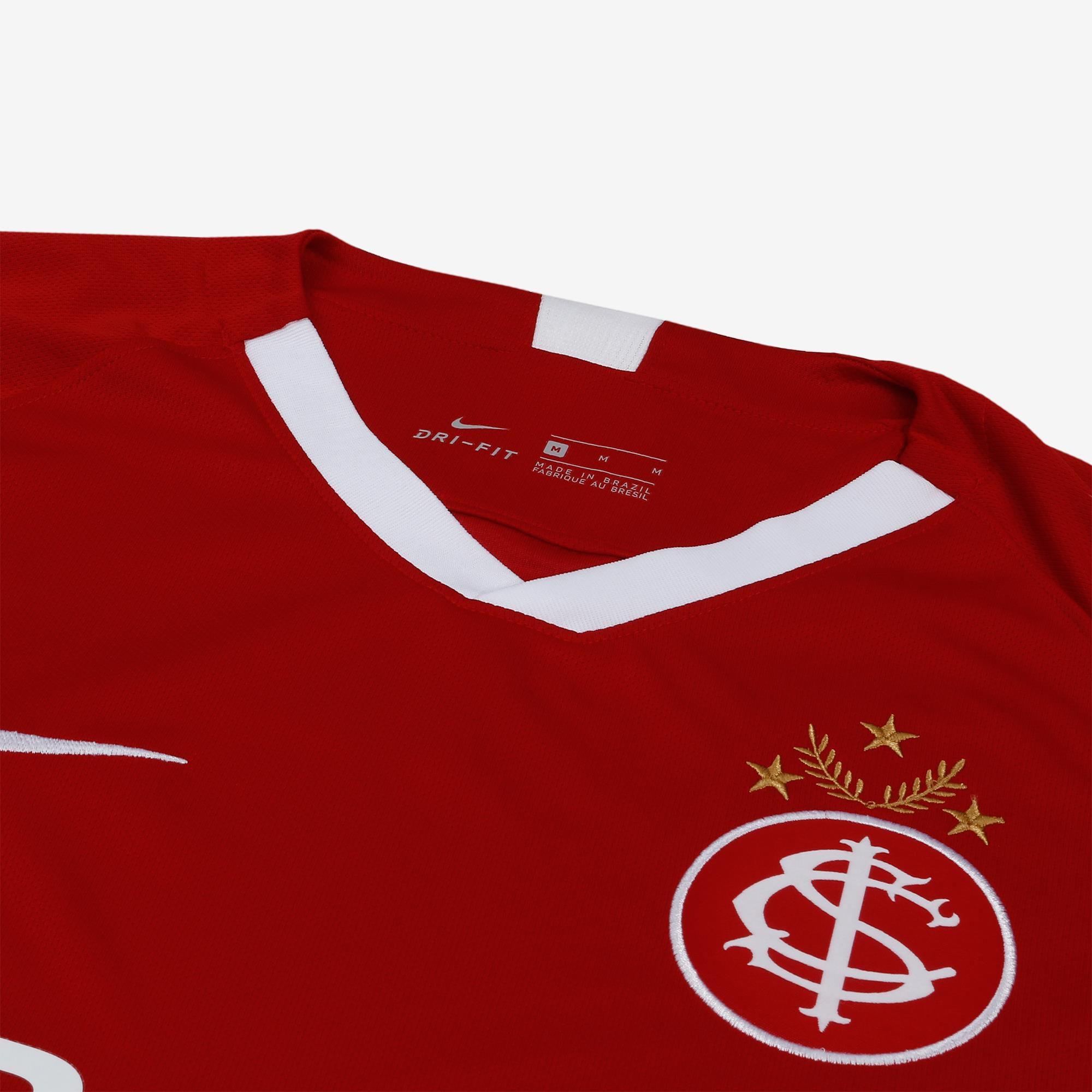 Camisa Nike Internacional I 2019/20 Torcedor Masculina