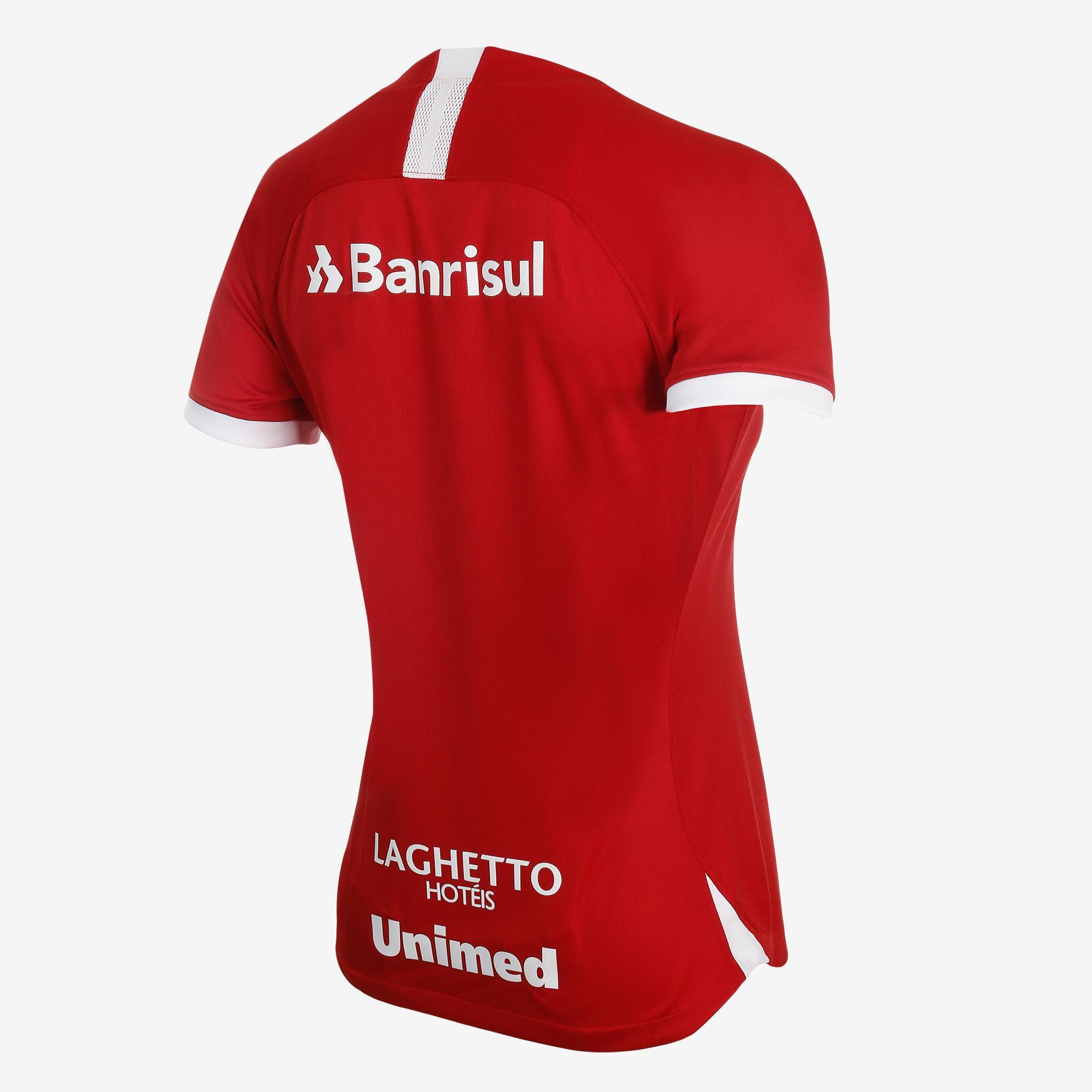 Camisa Nike Internacional I 2019/20 Torcedora Feminina