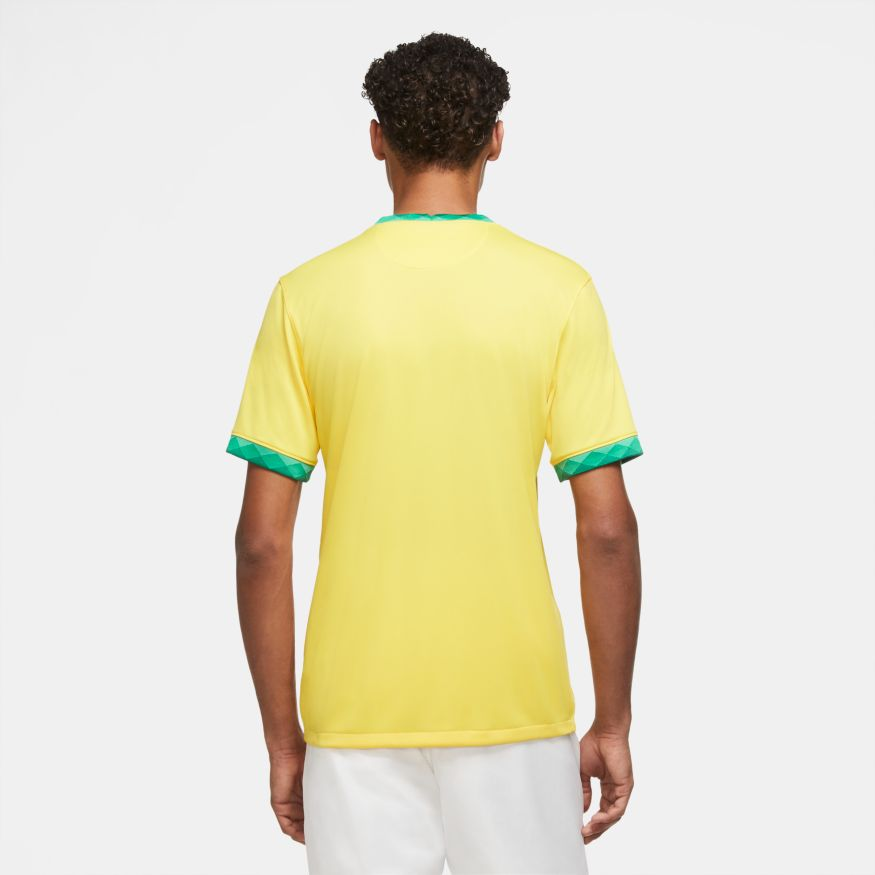 Camisa Nike Manga Curta CBF Brasil Stadium Home