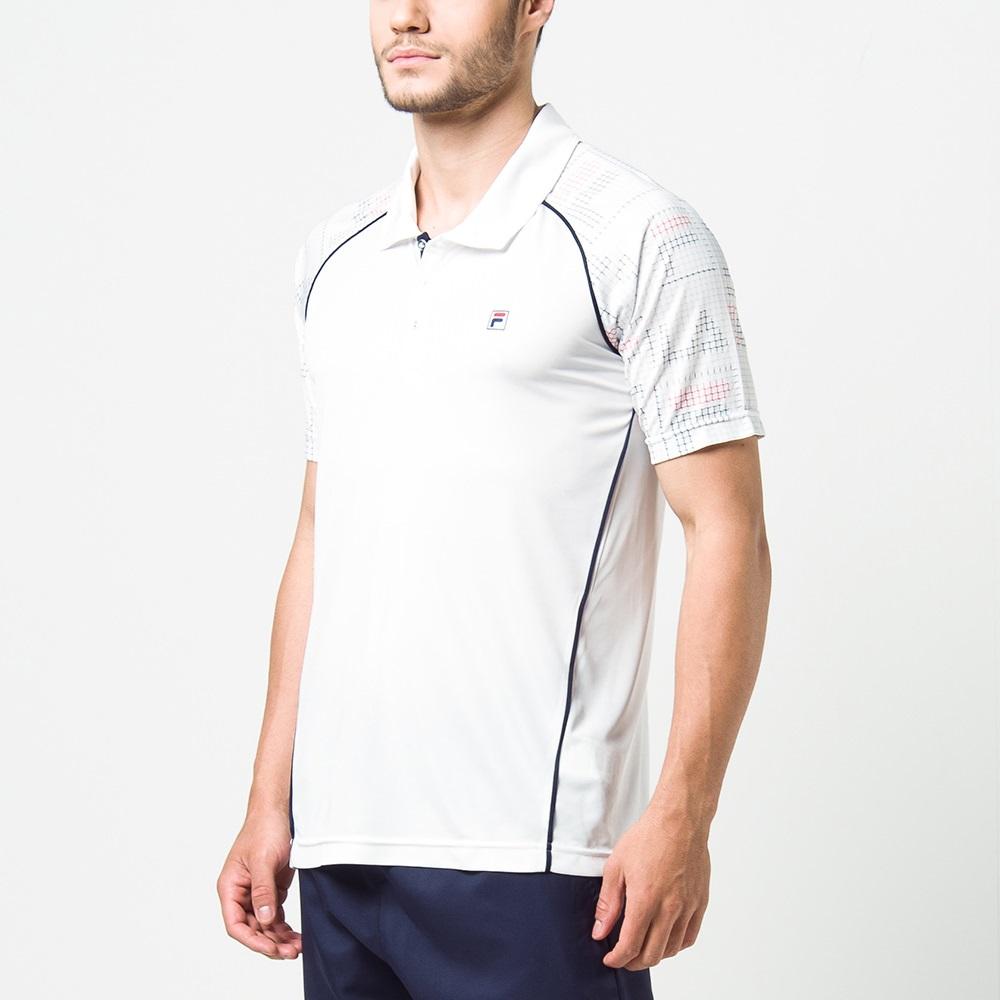 Camisa Polo Fila Cinci Print