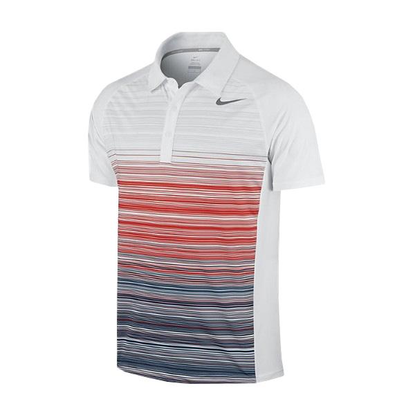 Camisa Polo Nike Stripe UV Masculina