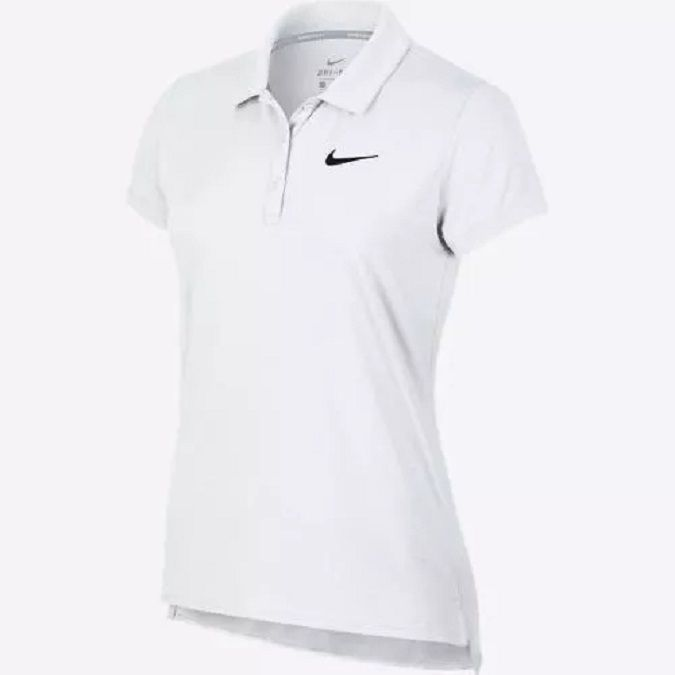 Camisa Polo NikeCourt de Tênis Feminina