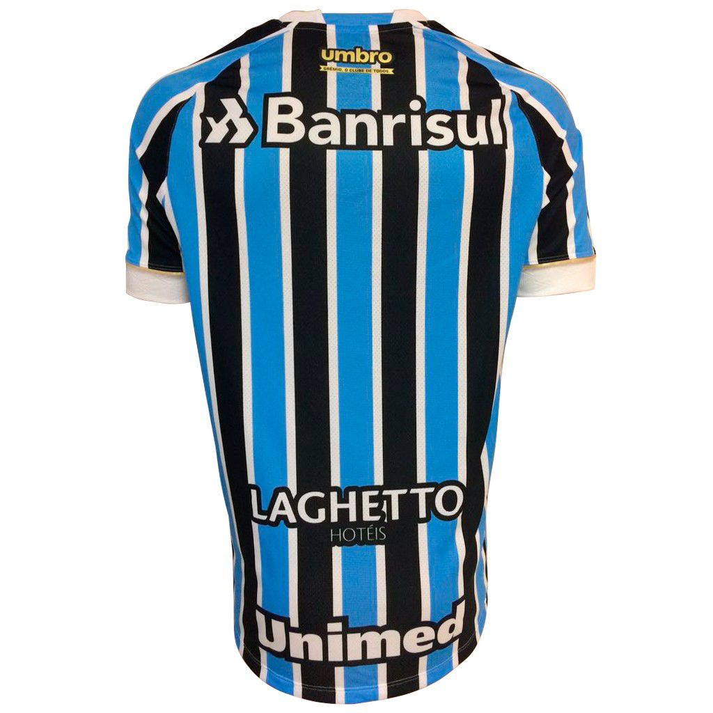 Camisa Umbro Grêmio OF.1 2018 (FAN PAT S/N)