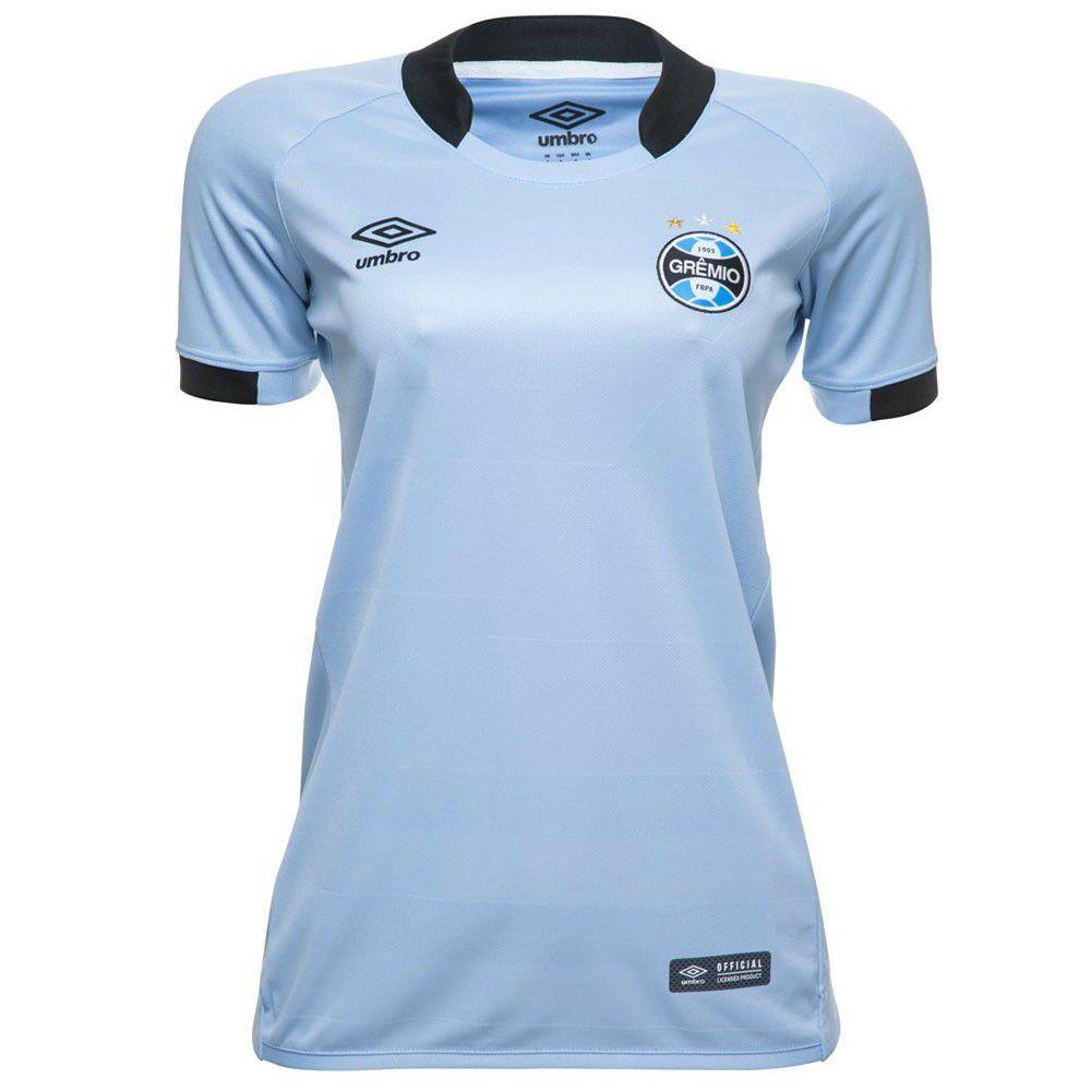 Camisa Umbro Grêmio Oficial II 2017 Torcedor Feminina