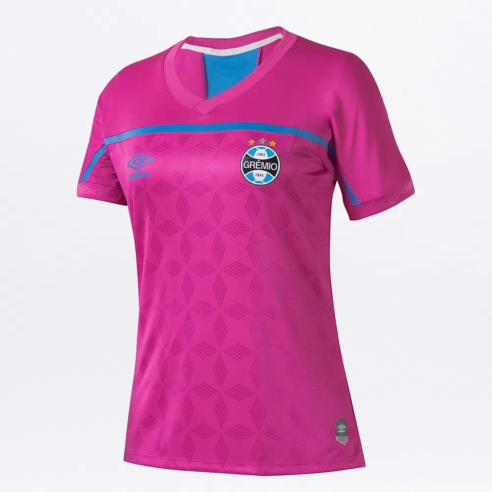Camisa Umbro Grêmio Oficial Comemorativa Outubro Rosa 2020