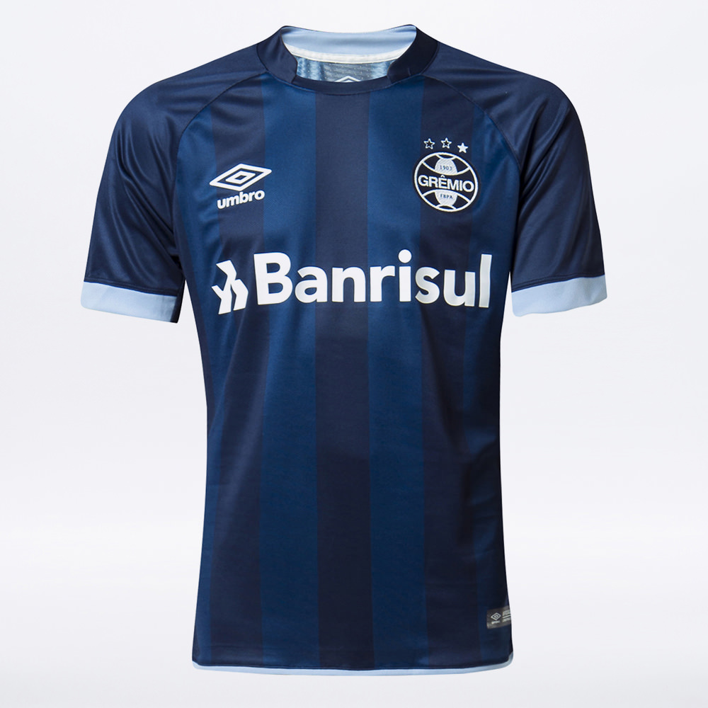 Camisa Umbro Grêmio Oficial III 2017/18 (FAN)
