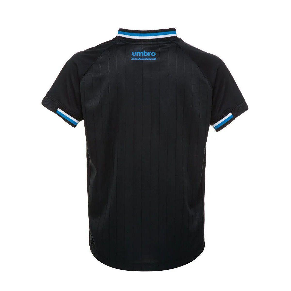 Camisa Umbro Grêmio Oficial III 2018 Torcedor JUVENIL