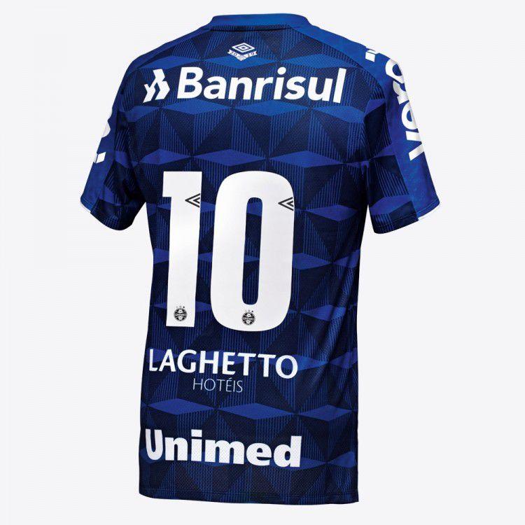 Camisa Umbro Grêmio Oficial III 2019 Atleta