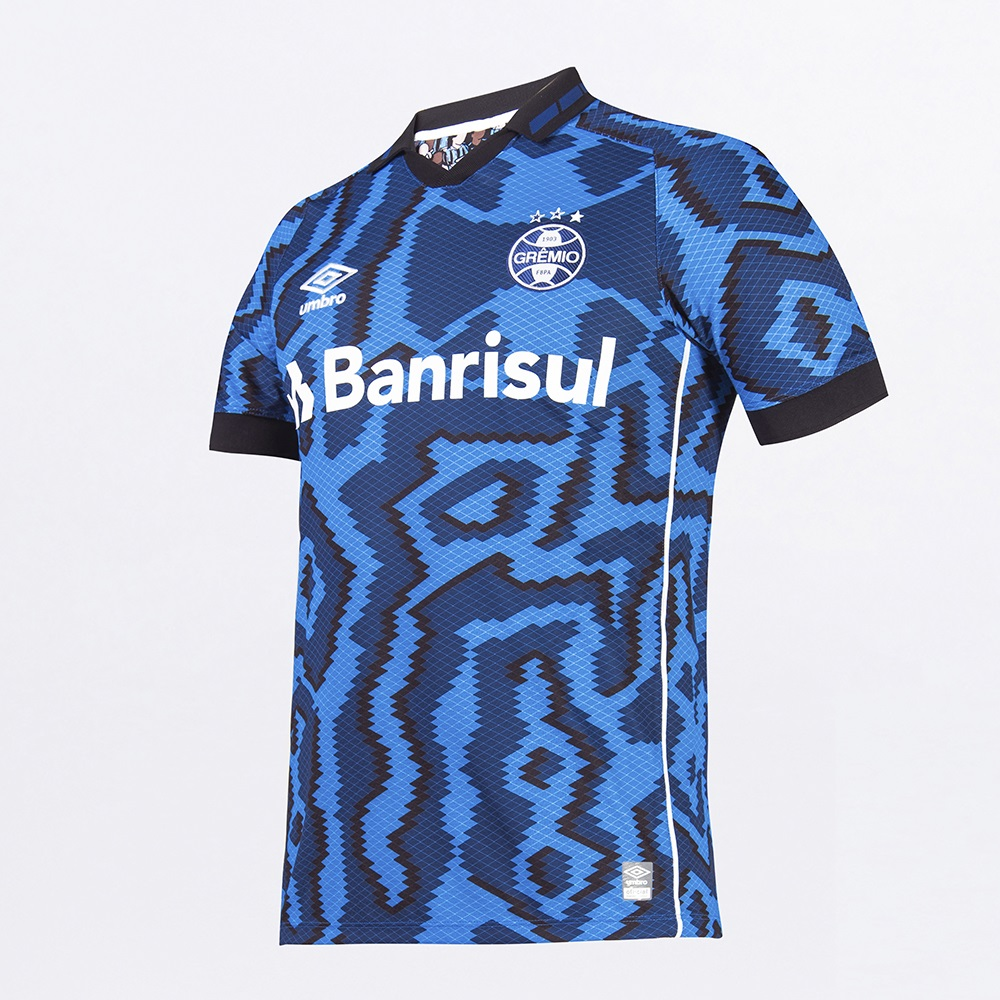 Camisa Umbro Grêmio Oficial III 2021 Classic 10