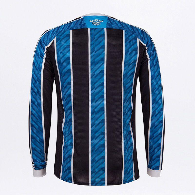 Camisa Umbro Grêmio Oficial Manga Longa 2020