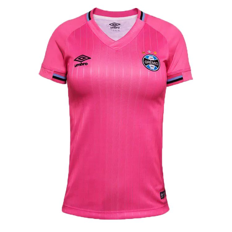 Camisa Umbro Grêmio Outubro Rosa 2018 Feminina